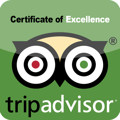 Trip Adviser certificate of excellence for Fantastic Caverns