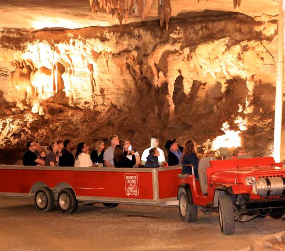 Summer Discovery, Fantastic Caverns' summertime program