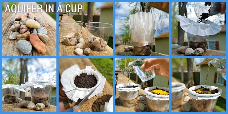 Create Your Own Aquifer in a Cup